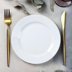 Тарелка мелкая «Бельё», d=19 см