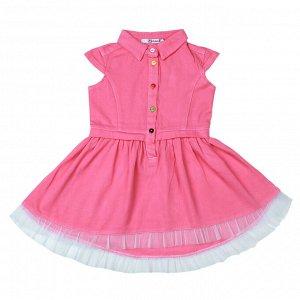 Платье для девочки OP887 розовый