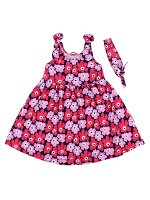 Платье для девочки BK1318P темно-синий