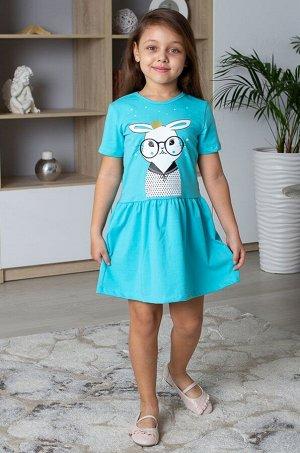 ДЕТСКИЙ ТРИКОТАЖ 37, Платье для девочки ДЕТСКИЙ ТРИКОТАЖ 37
