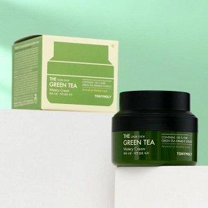 Увлажняющий крем для лица TONYMOLY с экстрактом зелёного чая, 60 г