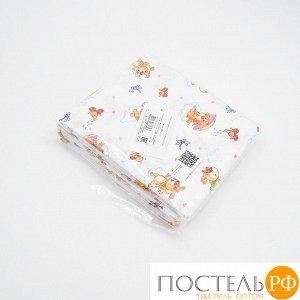 Набор детских пеленок ситец 4 шт 95/120 см 21045/1