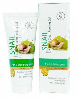 Medb Natural Clean Peeling Gel Snail Улиточный пилинг-гель 100 мл