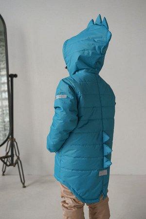 Куртка Дино зима 2021 океан