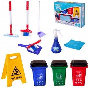 Игровой набор ABtoys Помогаю маме Генеральная уборка 11 предметов845