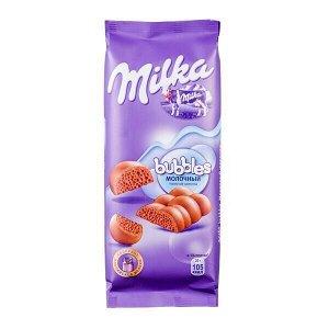 Шоколад Милка Баблс Молочный Пористый 76 г