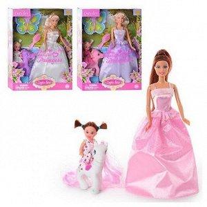 Кукла Defa Lucy Волшебный мир, в наборе с куколкой-дочкой на пони, высота кукол: 29 и 10 см257