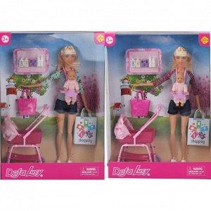 Игровой набор Кукла Defa Lucy Молодая мама, 2 вида174
