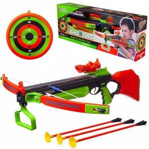 Игровой набор Junfa Арбалет со стрелами и мишенью35