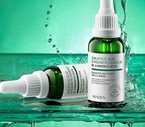 Сыворотка для лица для сужения пор venzen salicylic acid с салициловой кислотой, 30 мл