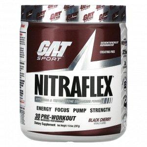 GAT, Sport, NITRAFLEX, черемуха, 297 г (10,5 унции)