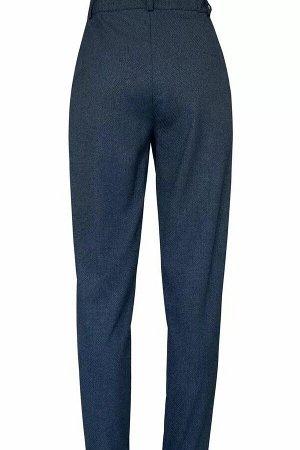 Брюки Брюки женские из костюмно-плательной ткани, прямые, на притачном поясе. Застежка брюк в верхней части среднего шва передних частей на тесьму-молнию, две петли и пуговицы по концам пояса. Пояс с