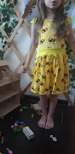 Платье Пчелка