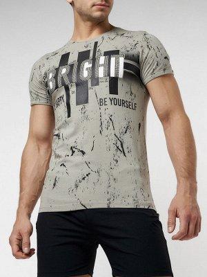 Подростковая футболка бежевого цвета 220146B