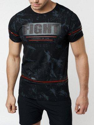 Подростковая футболка черного цвета 220144Ch