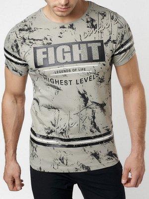 Подростковая футболка серого цвета 220144Sr