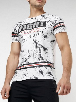 Подростковая футболка белого цвета 220144Bl