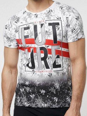 Подростковая футболка белого цвета 220147Bl