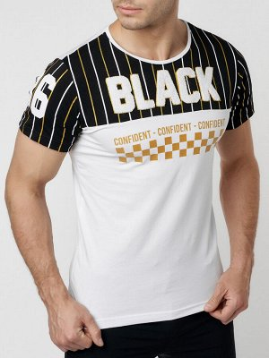 Подростковая футболка белого цвета 220016Bl