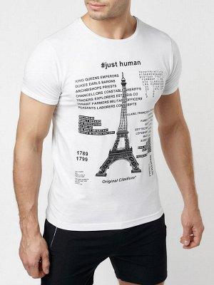 Подростковая футболка белого цвета 220088Bl