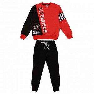 Комплект для мальчика (Свитшот,брюки) красный