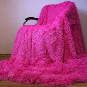 Плед Ярко розовый 200*230