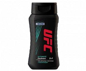 "UFC x EXXE гель для душа ""Тонизирующий"" Ultimate freshness 250 мл"