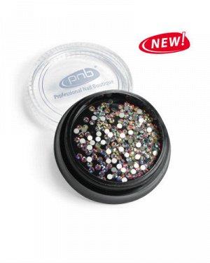 Стразы PNB кристаллы стекло AB SS5 1,35-1,45 мм, 200 шт.