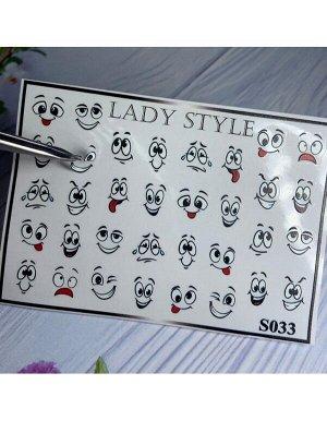 Стикеры для ногтей S33