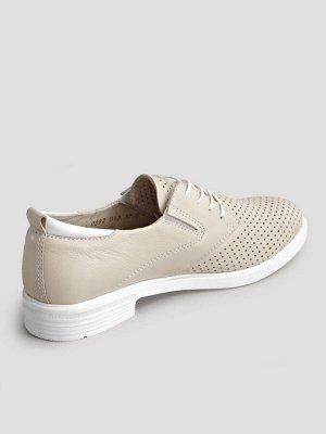 Туфли летние женские, бежевый