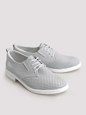 Туфли летние женские, серый
