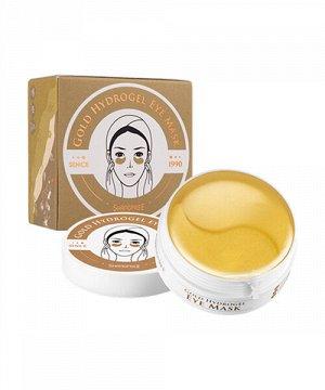 Патчи для глаз Gold Hydrogel eye mask Shangpree, 60 шт.