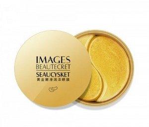 Патчи для глаз с коллоидным золотом Beautecret Seaucysket Images, 60 шт.