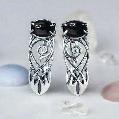 Серебряные украшения, изготовленные вручную именно для вас — Серьги