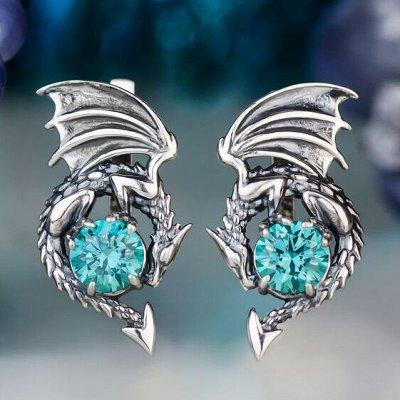 Серебряные украшения, изготовленные вручную именно для вас — Серьги #1