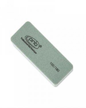Мини-баф для ногтей PNB 100/180 Grey, прямоугольный