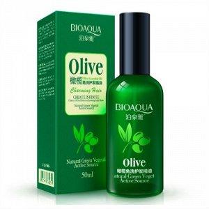 Масло для волос с экстрактом оливы Bioaqua, 50 мл.