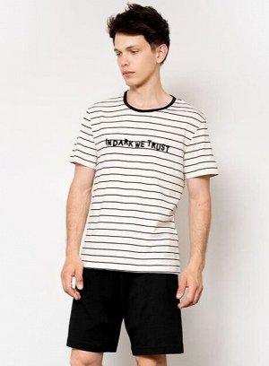 Комплект мужской (джемпер, шорты)