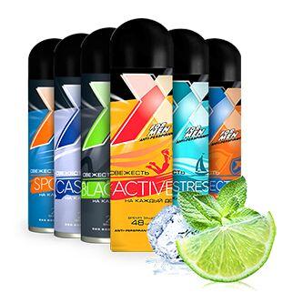 Если нужно быстро: товары ежедневного спроса — Акция месяца: дезодоранты-антиперспиранты, пены для бритья