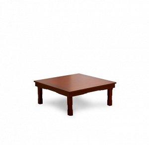 Корейский стол 800*800 красное дерево SB800