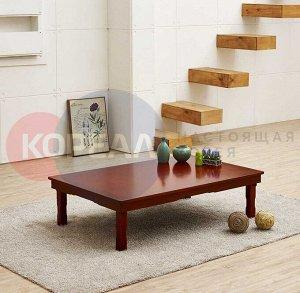 Корейский стол 1200*800 красное дерево SB1200_