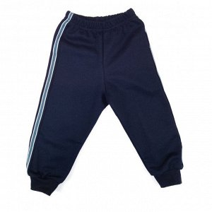 Спортивные штаны 5024/8 (т.синие, 2лампаса) 24/68