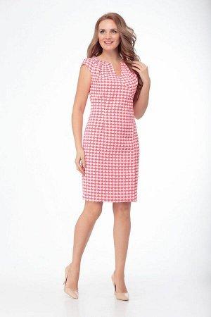 Платье Anelli 307 коралл