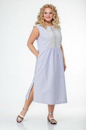 Платье Anelli 984 полоска