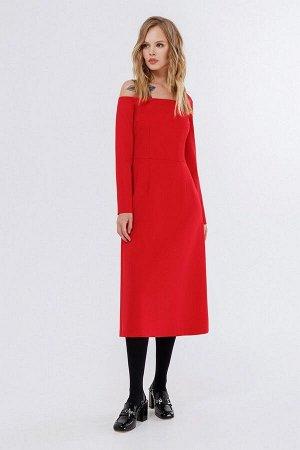 Платье PiRS 2234 красный