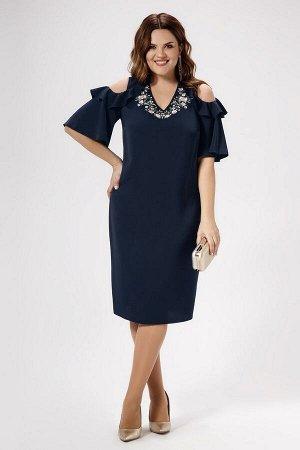 Платье Панда 469780 синий