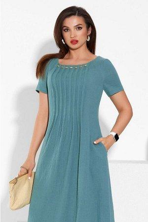 Платье Lissana 4335 морская_волна
