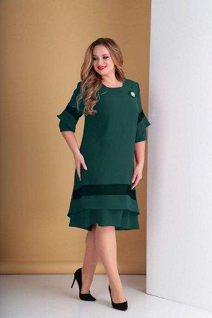 Платье Tensi 279 изумруд