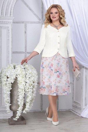 Жакет, юбка Ninele 5839 чайная-роза