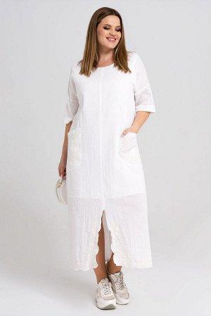 Платье Панда 34380z белый
